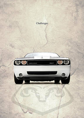 The Challenger Print by Mark Rogan