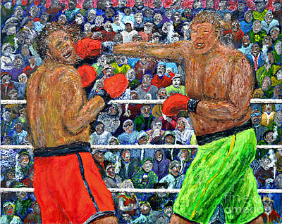 Jab Painting - The Champion by Richard Wandell