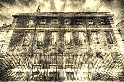 The Chapter House London Vintage Print by David Pyatt