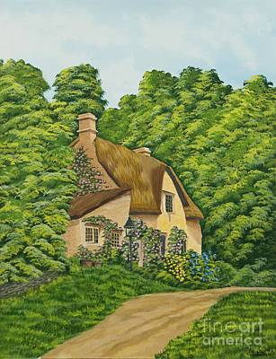 The Charm Of Wiltshire Original by Charlotte Blanchard