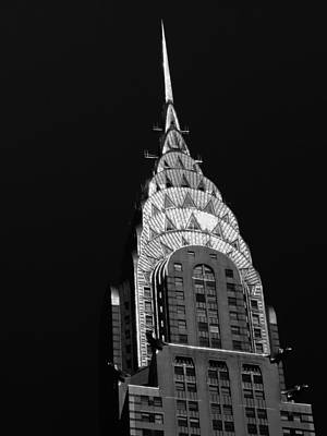 Black And White Photograph - The Chrysler Building by Vivienne Gucwa