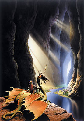 Cavern Photograph - The Citadel by The Dragon Chronicles - Steve Re