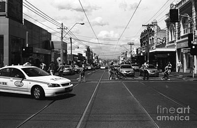Artecco Mixed Media - The City 01 by Sun Wu