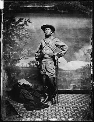 The Civil War, Colonel John S. Mosby Print by Everett