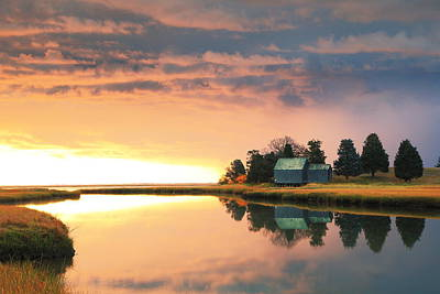 Boat Photograph - The Clearing Storm, Eastham, Cape Cod by Roupen  Baker