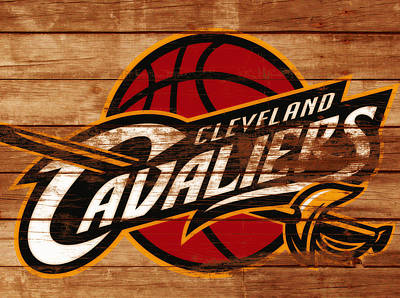 Deandre Mixed Media - The Cleveland Cavaliers 3a      by Brian Reaves