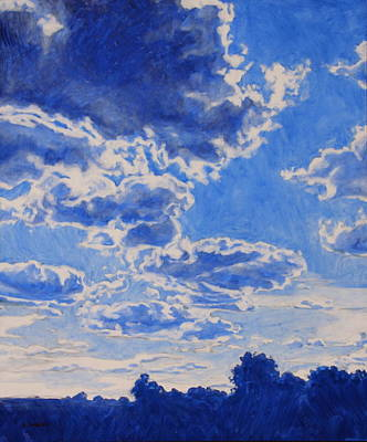 The Cloud Procession Print by Andrew Danielsen