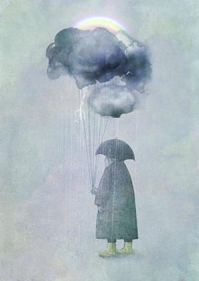 The Cloud Seller Print by Eric Fan