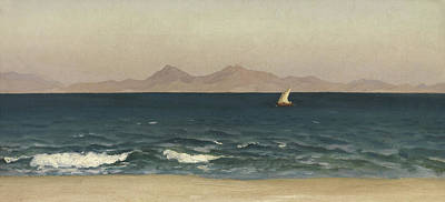 The Coast Of Asia Minor Print by Frederic Leighton