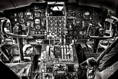 C130 Photograph - The Cockpit by Olivier Le Queinec