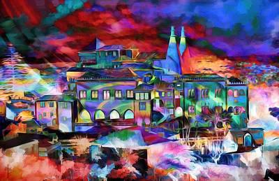 Vivid Colors Photograph - The Color Palace  by Daniel  Arrhakis