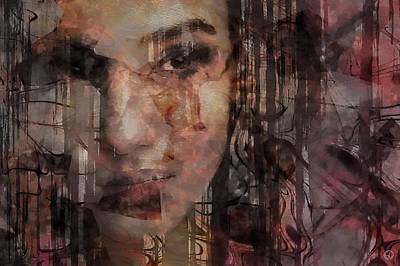 Face Digital Art - The Complexity Of Life by Gun Legler