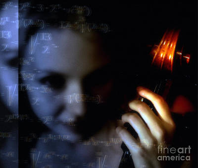 Math Photograph - The Composer  by Steven  Digman