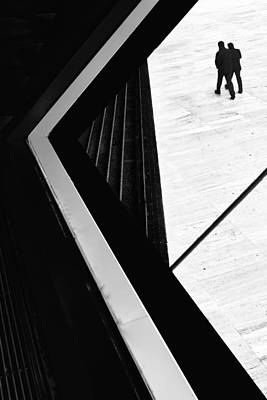 Casa Photograph - The Conspiracy Theory by Paulo Abrantes