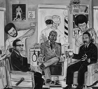 ''the Conversation'' Print by Mccormick  Arts