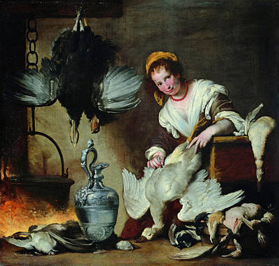 Painting - The Cook by Bernardo Strozzi