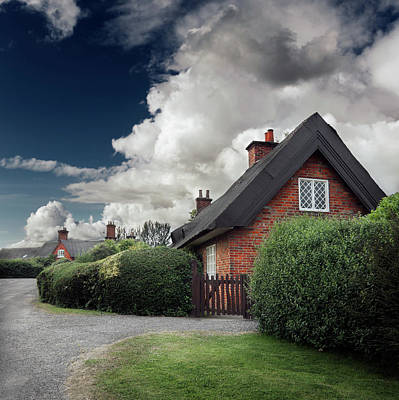The Cottage Print by Ian David Soar