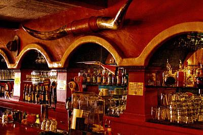 The Cowboy Club Bar In Sedona Arizona Print by David Patterson