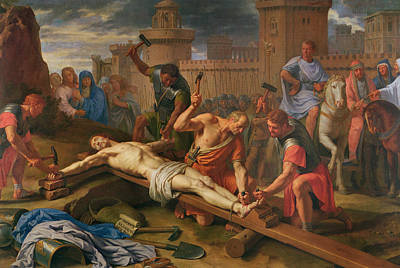 Hammer Painting - The Crucifixion by Philippe de Champaigne