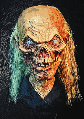 The Crypt Keeper Print by Taylan Soyturk