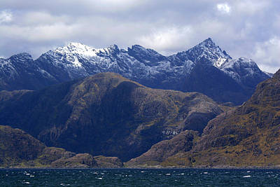 Elgol Photograph - The Cuillin Mountains Isle Of Skye by John McKinlay