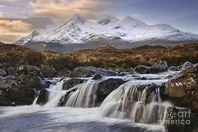 The Cuillins From Sligachan Print by Rod McLean