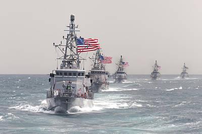 Nato Photograph - The Cyclone-class Coastal Patrol Ship Uss Hurricane by Celestial Images