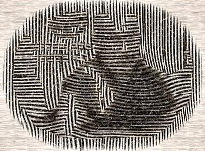 Digital Art - The Dalai Lama by Mario Carini
