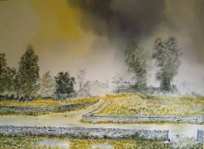 Stonewall Painting - The Dales by Andy Davis