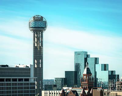 Photograph - The Dallas Blues by Sonja Quintero