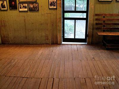 Screen Doors Photograph - The Dance Hall Floor by Leah Cimmelli-Orfini