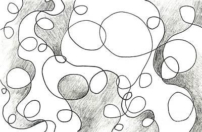 Atom Mixed Media - The Dance by Helena Tiainen