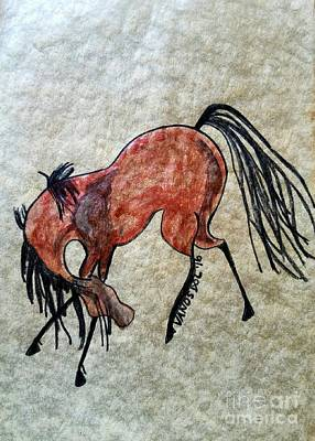 The Dancing Pony Print by Scott D Van Osdol