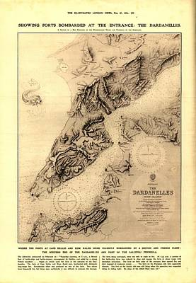 The Dardanelles Print by Robert Nickologianis