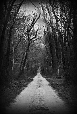 The Dark Road Print by Darin Bokeno