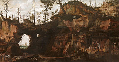 Painting - The Dawn Of Civilization by Cornelis van Dalem