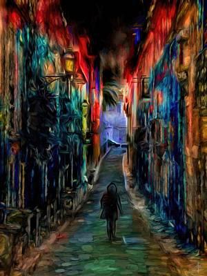 The Day I Left That Neighborhood  Original by Daniel Arrhakis