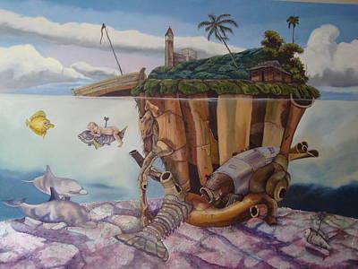 The Deep Print by Carlos Rodriguez Yorde