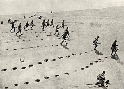 Action Drawing - The Desert Phase Of The South-west by Vintage Design Pics