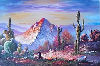 The Desert Travelers Original by Krista May
