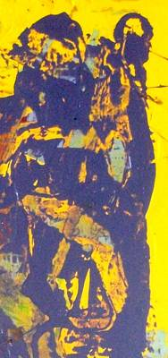 The Devil Behind St. Steven Original by Bruce Combs - REACH BEYOND
