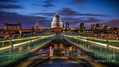 The Dome Print by Giuseppe Torre