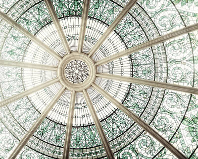 Beige Glass Photograph - The Dome  by Lisa Russo