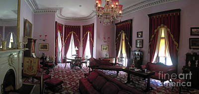 The Drawing Room- Dundurn Castle Print by Larry Simanzik