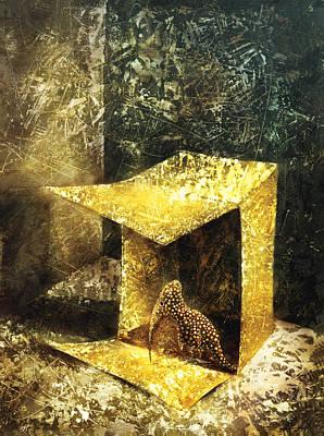 Birdman Painting - The Dream House by Lolita Bronzini