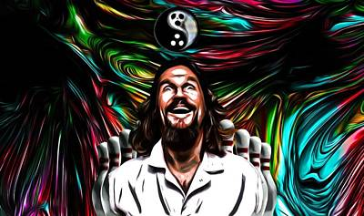 The Dude Print by Rob Hans
