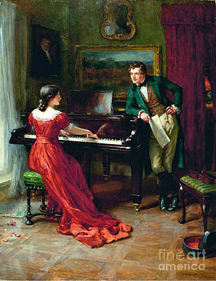 Kingdom Painting - The Duet by George Sheridan
