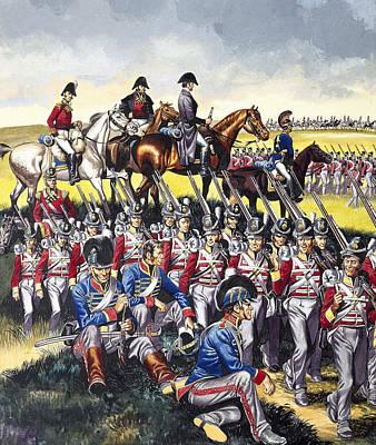 The Duke Of Wellington Print by Ron Embleton