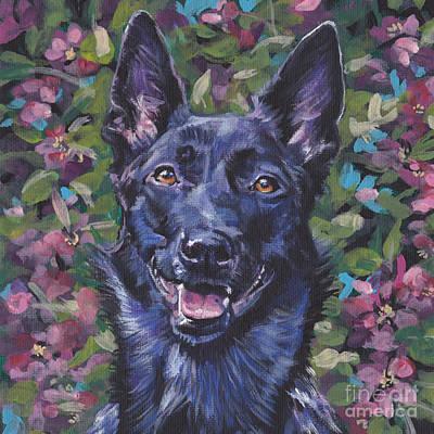 Dutch Shepherd Painting - The Dutch Shepherd by Lee Ann Shepard
