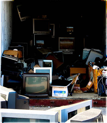 Information Age Photograph - The Dying Art Of Technology  by Steven Digman